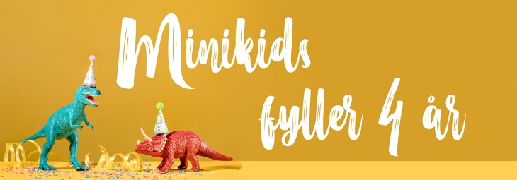 minikids 4 år banner
